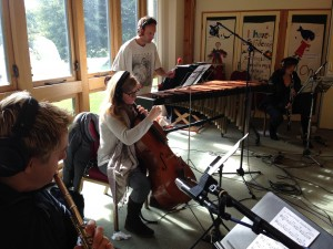 'A Hidden Order' recording session, Barcombe, Dec 2013