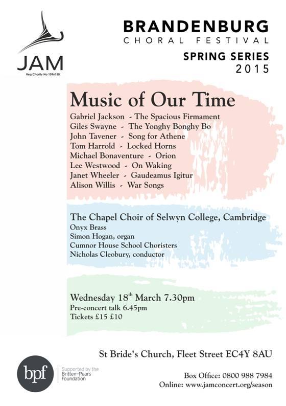 JAM Concert - On Waking - 18:03:15